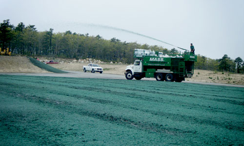 hydroseeding bourne recycle transfer station 1